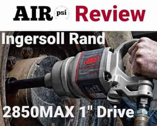 AIRpsi Ingersoll Rand 2850MAX Review