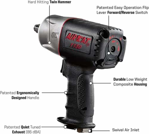 AIRCAT 1150 Features